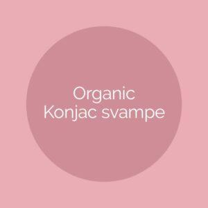 Organic Konjac svampe